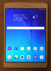 """Latest Samsung Galaxy Tab A 9.7"""" 16GB White like new condition Wolli Creek Rockdale Area Preview"""