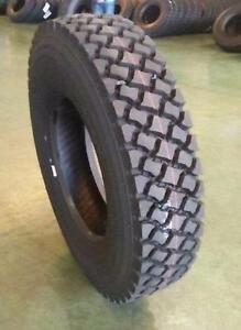 NEW KAPSEN 11R24.5 HS217 SEMI TRUCK TIRES 11 R 24.5 DRIVE 16 PLY OFF ROAD AGGRESSIVE GRIP
