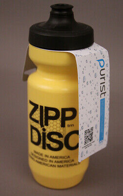 New Zipp Disc Plastic Yellow Water Bottle 500 ml Closeout!](Yellow Water Bottle)