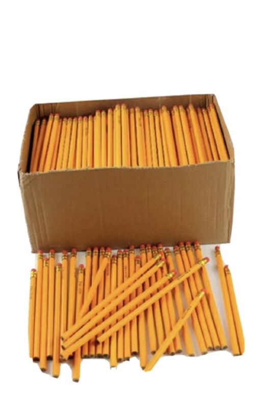 (LOT OF 1,728)Wholesale Bulk Yellow #2 Pencils Great For School, Home, Or Office