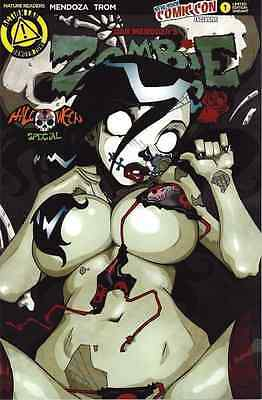 ZOMBIE TRAMP HALLOWEEN SPECIAL ONE SHOT 1 2015 NYCC VARIANT NEW YORK COMIC CON](Special Halloween Shots)