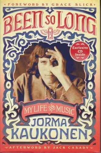 JORMA KAUKONEN signed autographed 1st Edition BOOK JEFFERSON AIRPLANE STARSHIP
