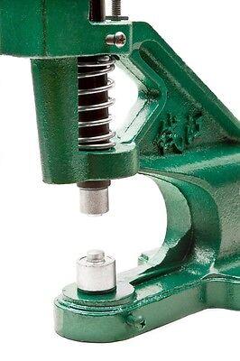 Heavy Duty Hand Press Grommet Machine Die 0 2 4 900 Silver Grommets Eyelet