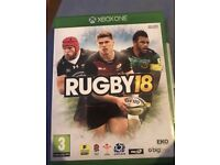 Rugby 18 Xbox one £12