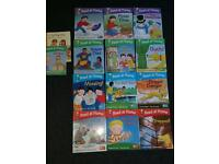 Oxford read at home reading books