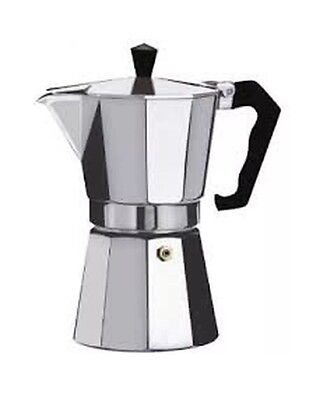 3 Cup Expresso Coffee Maker - Silver