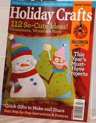 Cute Craft Ideas (BH & G HOLIDAY CRAFTS Magazine 112 So CUTE IDEAS Special Section HALLOWEEN)