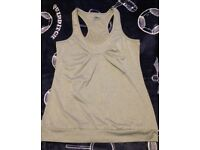 Grey New vest top size L / 16 summer / gym / yoga