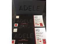 2 Adele Standing tickets Sunday 2nd July