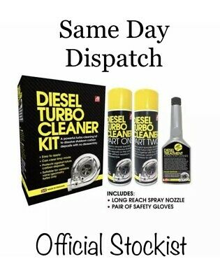 Power Maxed Diesel Turbo Cleaning Kit 5pc Fast Effecting Turbo Cleaner Best ***