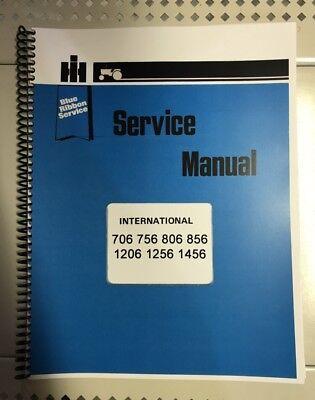 706 International Harvester Tractor Technical Service Shop Repair Manual