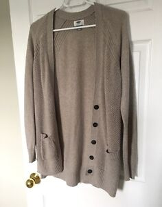 OLD NAVY BOYFRIEND CARDIGAN-NEW!