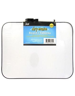Jot Magnetic Dry Erase Board 8.5 X 11 Lot Of 10 Black Marker Included White