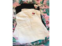 Brand New boobTube Vest Tops size 12 - matalan - cost £3 each two black, two white!!
