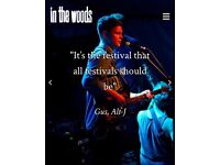In The Woods Festival Tickets for sale £125