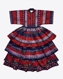 *** KENZO MAXI DRESS H&M collaboration RARE Size M ***