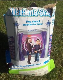 never used Kids inflatable stage