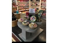 Set of 3 tiered display tables