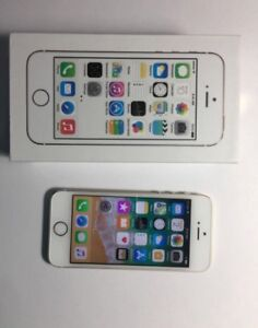 White and Gold iPhone 5s 16GB UNLOCKED in Original Box!