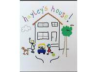 Childminder / babysitter Gilmerton/liberton /moredun/ fernieside/ lasswade