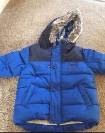 Boys winter coat from next 12-18 mths