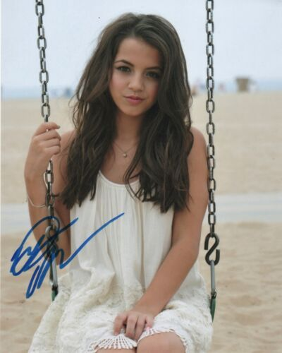 Isabela Moner Transformers Autographed Signed 8x10 Photo COA #J3