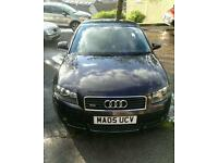 Audi a3 3.2 v6 Quattro 250bhp sell swap van why.