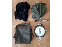 Fishing Scales with Carp sack, Carp Sling & carry bag