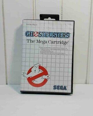 Sega Master System Ghostbusters CIB Cartridge Tested