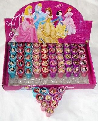 Disney Princesses Self Inking Stamper Pencil Topper Girls Party Favor Bag - Disney Princesses Party