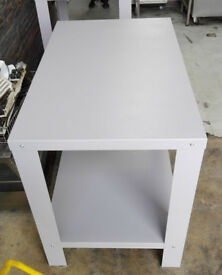 NEW TABLE FOR PIZZA OVEN WITH SHELF - 123cmX73cmX90cm