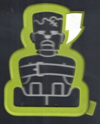 Sweet Creations 3D FRANKENSTEIN Cookie Cutter with Easy Press Edge Halloween