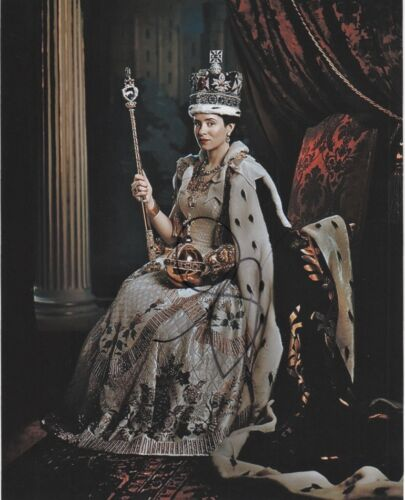 Claire Foy The Crown Autographed Signed 8x10 Photo COA #O6