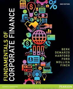 Fundamentals of Corporate Finance 2E By Jonathon Berk Sydney City Inner Sydney Preview