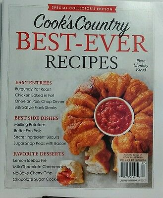 Cook's Country Best Ever Recipes Special Pizza Monkey Bread FREE SHIPPING