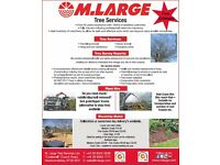 M Large Tree Services LTD - No job to 'Large' or too small