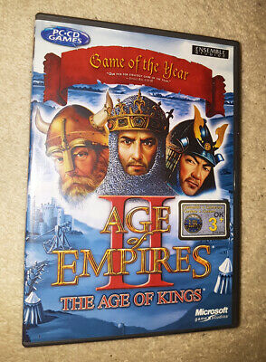 AGE OF EMPIRES II 2 THE AGE OF KINGS PC GAME WINDOWS for sale  Shipping to Nigeria