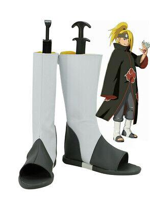 Naruto Cosplay Schuhe (NARUTO Deidara Akatsuki Cosplay Kostüme Costume Schuhe Shoes boot Stiefel ninja)