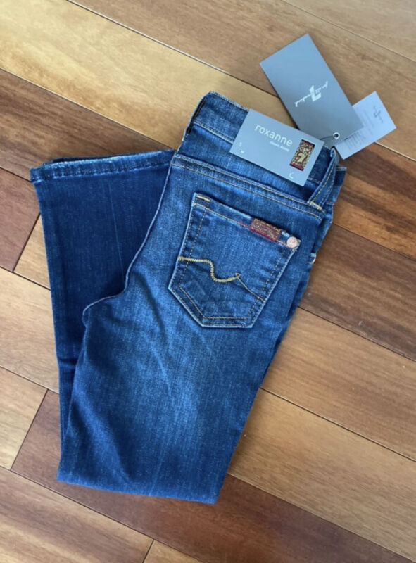 7 for all mankind girls jeans Size 5 Roxanne Nwt Seven For All Mankind