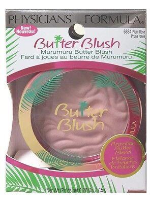 Physicians Formula Murumuru Butter Blush  Choice Of Natural Or Plum Rose