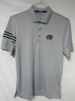Columbus Blue Jackets Men's Size Medium or Large Adidas Climacool Polo A1 546 ()