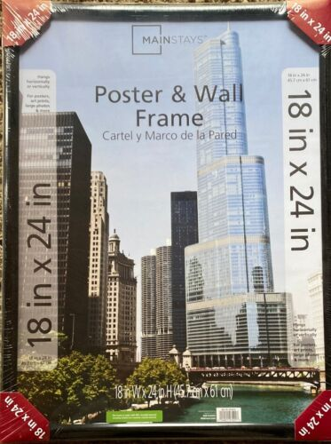 18x24 trendsetter poster and picture frame black