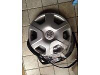 "Two 13 inch Toyota Yaris Wheel Trims (From Yaris 13"")"