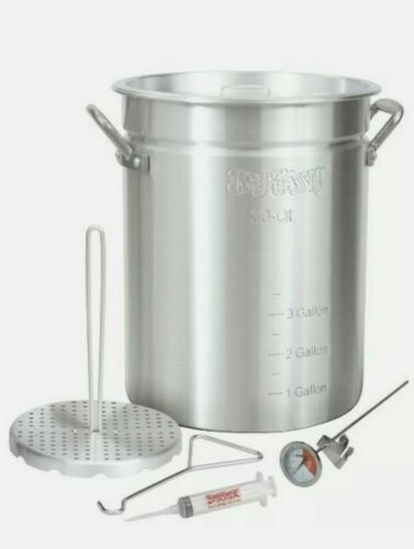 30 Quart Outdoor Fryer Turkey Fryer Pot