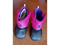 Ralph lauren baby girl boots