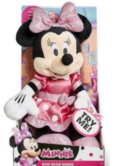 Wanted: Minnie Mouse Bow Glow Doll