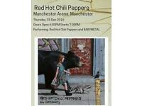 2 red hot chilli peppers tickets