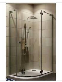 BQEO9004 cooke & lewis Luxuriant quadrant shower enclosure 1200mm x 900mm