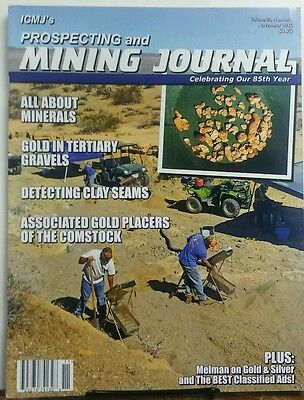 Prospecting And Mining Journal Nov 2015 All About Minerals Gold Free Shipping Sb