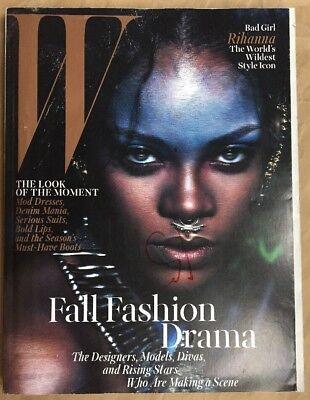 W Magazine September 2014 RIHANNA Trends Supplement Fashion Jablonski NEW